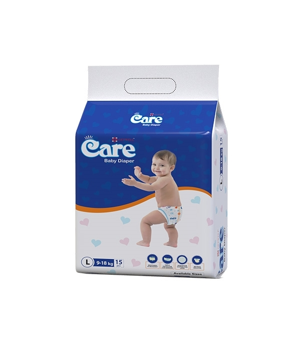 Care Baby Diaper 9 KG-18 KG 15pcs