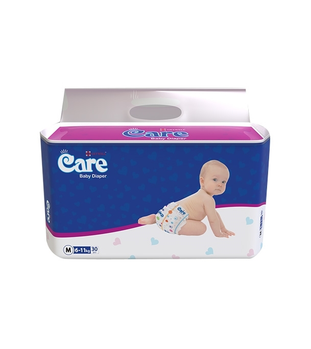 Care Baby Diaper 6KG-11KG 30pcs