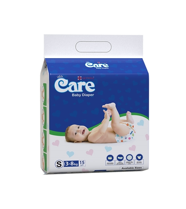 Care Baby Diaper 3 KG-8 KG 15pcs